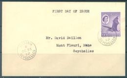 SEYCHELLES -  FDC - 25.10.1957 - FLYING FOX CHAUVE-SOURIS  - Yv 167 -  Lot 17756 - Seychelles (...-1976)