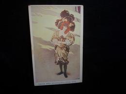 Art Nouveau .Illustrateur Walter Hampel Carneval XVII / 1 .Wien , Philipp& Kramer .Avant 1904.Voir 2 Scans . - Altre Illustrazioni