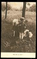 NEDERLAND ANSICHTKAART *  Uit 1921 Gelopen Van ROTTERDAM Naar DEN HAAG  * FANTASIE (3888i) - Andere