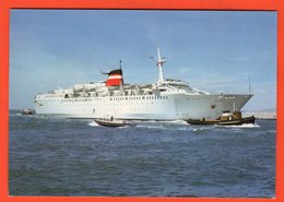 """FERRY CONTINENT-CORSE - PAQUEBOT CAR-FERRY """"PROVENCE"""" - Steamers"""