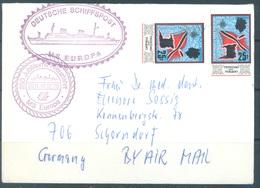 TRINIDAD TOBAGO -  1978 MS EUROPA SCHIFFSPOST TO GERMANY -  Lot 17757 - Trinité & Tobago (1962-...)