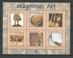 United Nations NY 2006 Indigenous Art Sheet Y.T. 978/983 ** - New York – UN Headquarters