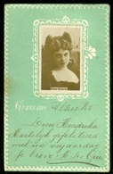 NEDERLAND ANSICHTKAART * NVPH 51 * Uit 1904 Gelopen Van UTRECHT Naar HILVERSUM  * FANTASIE (3888j) - Fantasie