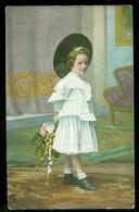 NEDERLAND ANSICHTKAART * NVPH 51 * Uit 1911 Gelopen Van LOKAAL AMSTERDAM  * FANTASIE (3888k) - Fantasie