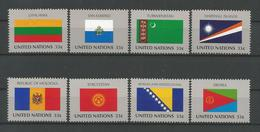 United Nations NY 1999 Flags  Y.T. 783/790 ** - New York – UN Headquarters