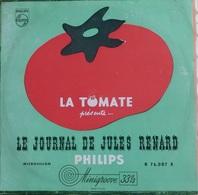 """Jean Carmet,louis De Funes + Autres 33t. 25cm """"le Journal De Jules Renard"""" - Humour, Cabaret"""