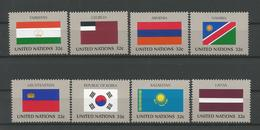 United Nations NY 1997 Flags  Y.T. 710/717 ** - New York – UN Headquarters
