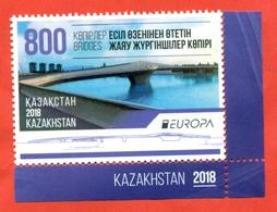 Kazakhstan 2018.Europa. Bridges. One Stamp.New. !!! - Kazakhstan