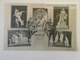 D160489   Italia  - Genova - GENOVA - Camposanto Di Staglieno Ca 1908-10  Angelli Angel Angels - Genova