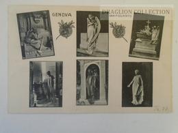 D160490   Italia  - Genova - GENOVA - Camposanto Di Staglieno Ca 1908-10  Angelli Angel Angels - Genova (Genoa)