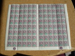 Virgin Islands 1904 Y&T N° 28 Scott N°29 ** Bloc De 96 - Iles Vièrges Britanniques