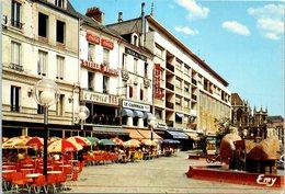 14 CAEN - Commerce- Cafés Du Boulevard Du Maréchal Leclerc: Les Terrasses Du Secteur Piétonnier - L'étoile - Le Caennais - Cafés