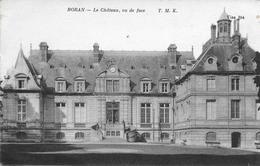 Boran Sur Oise - Le Château - Vue De Face - Circulé Non Timbrée - Boran-sur-Oise