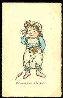 NEDERLAND ANSICHTKAART * * Uit 1912 *  *  FANTASIE (3888v) - Fantasie