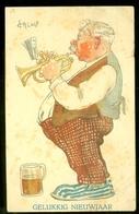 NEDERLAND ANSICHTKAART * * Uit 1925 * Gelopen Van ROTTERDAM Naar HAARLEM *  FANTASIE (3888x) - Fantasie