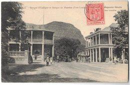 """AFRIQUE MAURICE MAURITIUS : """" Banque D'Epargne Et Banque De Maurice PORT-LOUIS """" - Voyagé Vers GARGAN LIVRY - Mauritius"""