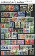 SAMMLUNGEN, LOTS *, Ungebrauchte Sammlung Belgien Von 1949-60 Mit Mittleren Ausgaben, Ab 1955 Bis Auf Bl. 25 Und Mi.Nr. - Belgien