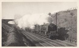 LMS Princess Coronation 4-6-2 No 46237 Train City Of Bristol Railway Photo - Trains