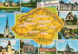 LA SOLOGNE...edit  Valoire - Cartes Géographiques