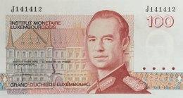 Luxemburg 100 Francs, P-58a (1986) - UNC - Luxemburg