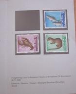Enveloppe Suisse - Pro Juventute 1996 - Homard - Ombre - Loutre - Timbres