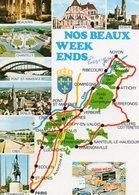 NOS BEAUX WEEKENDS   Ile De France     Edit  Combier - Cartes Géographiques