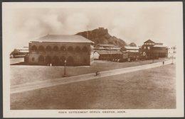 Aden Settlement Office, Crater, Aden, C.1910s - Pallonjee Dinshaw & Co RP Postcard - Yemen