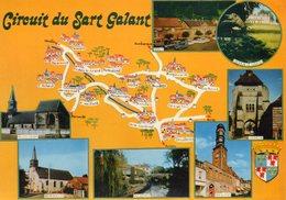 CIRCUIT DU SART GALANT     EDIT  COMBIER - Cartes Géographiques