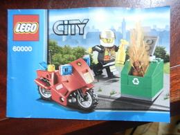 7a) ISTRUZIONI MONTAGGIO LEGO CITY 60000 PIEGA CENTRALE - Non Classificati