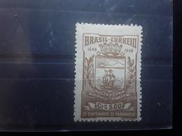 BRASIL / BRAZIL / BRESIL 1948 Blason Ville De Paranagua  Yvert 470 , 5 Cr Bistre Neuf */ MH, TB - Unused Stamps