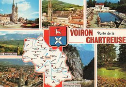 VOIRON Porte De La  CHARTREUSE...edit  Cellard - Cartes Géographiques