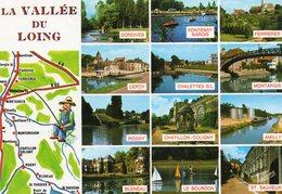 La Vallee Du Loing     Edit  Valoire - Cartes Géographiques
