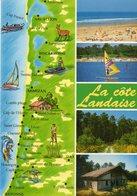 La Cote Landaise   Edit Lavielle - Cartes Géographiques