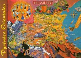 Pyrenees Orientales     Roussillon   Edit   DINO - Cartes Géographiques