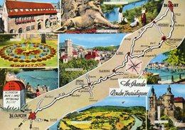 Besancon  Belfort  Les Gdes Routes Touristiques... - Cartes Géographiques