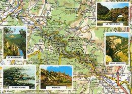 Les Gorges De L Ardeche... Edit  Yvon - Cartes Géographiques