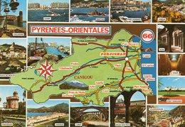 Pyrenees Orientales....  Edit   Estel - Cartes Géographiques