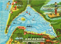 Le Bassin D Arcachon...  Edit Chatagneau - Cartes Géographiques