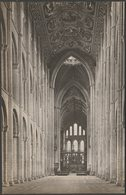 Nave, Ely Cathedral, Cambridgeshire, C.1920s - Tyndall RP Postcard - Ely
