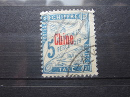 VEND BEAU TIMBRE TAXE DE CHINE N° 1 !!! - Postage Due