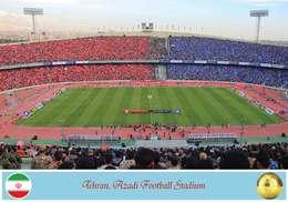 Iran Postcard, Tehran, Azadi Football Stadium, Soccer Stadium - Soccer