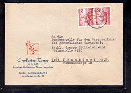 Bund, MeF. Mi.-Nr. 152 - Briefe U. Dokumente