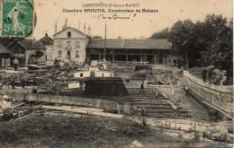 54 LANEUVEVILLE-devant-NANCY  Chantiers Broutin , Constructeur De Bâteaux - Other Municipalities