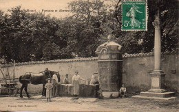 55 MENAUCOURT  Fontaine Et Abreuvoir - Other Municipalities