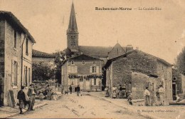 52 ROCHES-sur-MARNE  La Grande Rue - France