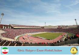 Iran Postcard, Tabriz, Yadegar-e-Emam Football Stadium, Soccer Stadium - Soccer