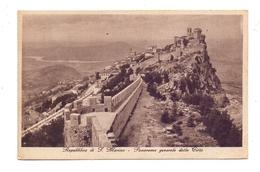 SAN MARINO, Panorama Generale Della Citta, 1938 - San Marino