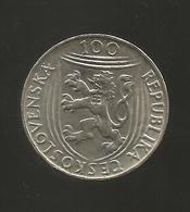 CECOSLOVACCHIA - 100 Korun ( 1951 ) K. Gottwald (1921 - 1951) - Cecoslovacchia