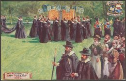 The Funeral Of Amy Robsart In 1560, Oxford Pageant, 1907 - Tuck's Oilette Postcard - Oxford