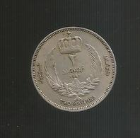 LIBIA / LIBYA - 2 PIASTRES - King Idris ( 1952 ) - Libye